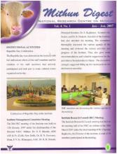 Mithun Digest Jan-June, 2007