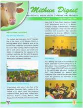 Mithun Digest Jan-June, 2009