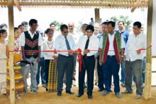 Launching of alternative semi-intensive mithun rearing system in the farmers' field