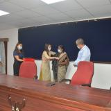 Farewell of Dr. Saroj Toppo on 31st August 2020.