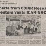 Experts from CGIAR Research Centers visits ICAR-NRCM