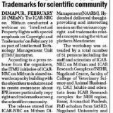 Webinar highligts IPR, Copyright & Trademarks for scientific comminity
