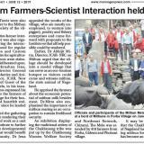 Mithun Mela cum Farmers-Scientist Interaction held in Porba village