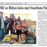 ICAR-NRC on Mithun kicks start Swachhata Pakhwada